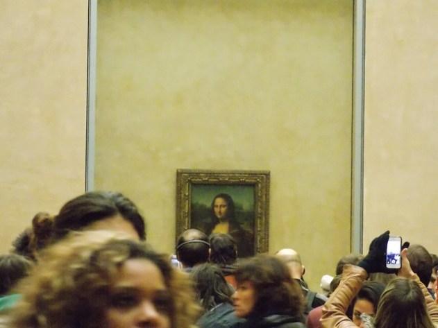 Alí está o quadro mais famoso do mundo