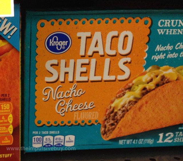 Kroger Nacho Cheese Taco Shells