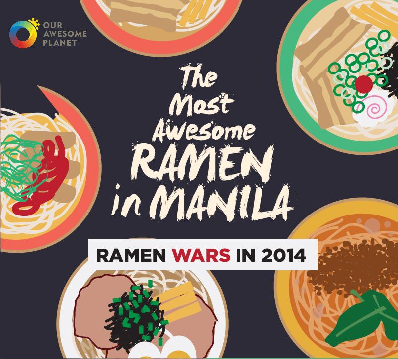 ramen infographics