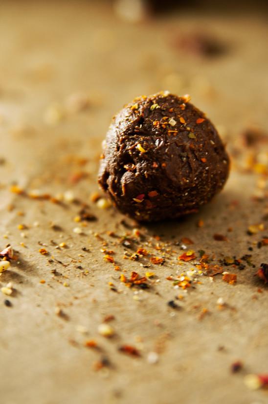 SChoko Chili Trüffel receipt chocolate truffle