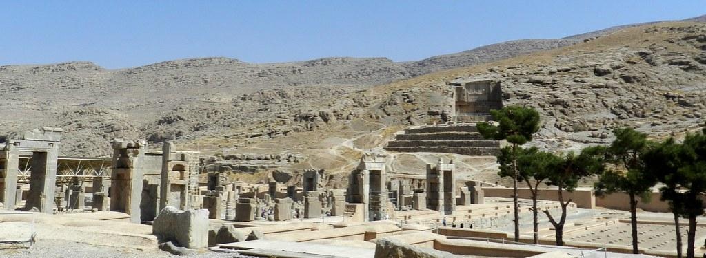 Palacio de las 100 columnas Persépolis Irán 02