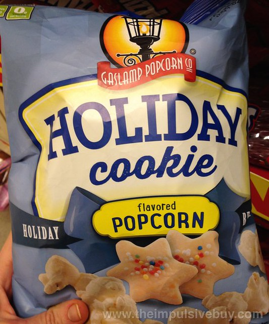 Gaslamp Popcorn Co Holiday Cookie Popcorn