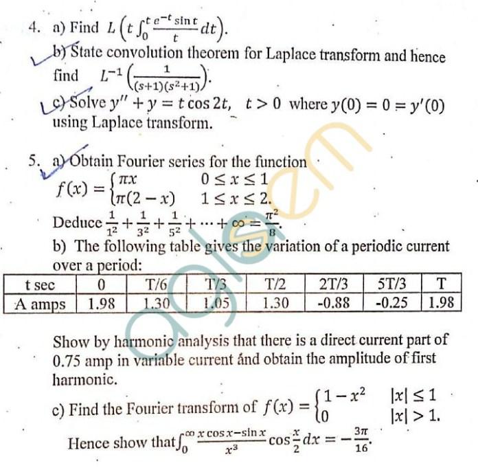 DTU: Question Papers 2013 – 2 Semester - End Sem - AM-111