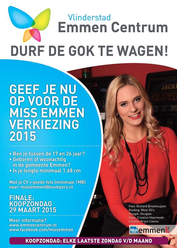 Poster Vlinderstad Emmen Centrum Emmen Can Dance 2015