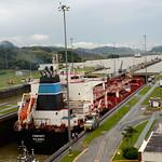05 Viajefilos en Panama, Esclusa Miraflores 04
