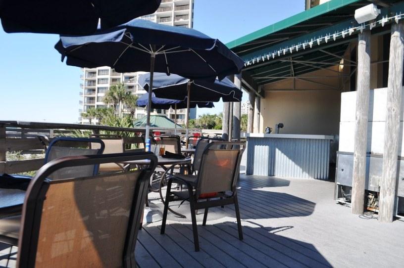 Outdoor Dining at Elephant Walk at Sandestin Golf and Beach Resort, South Walton, Florida, Oct. 25, 2014