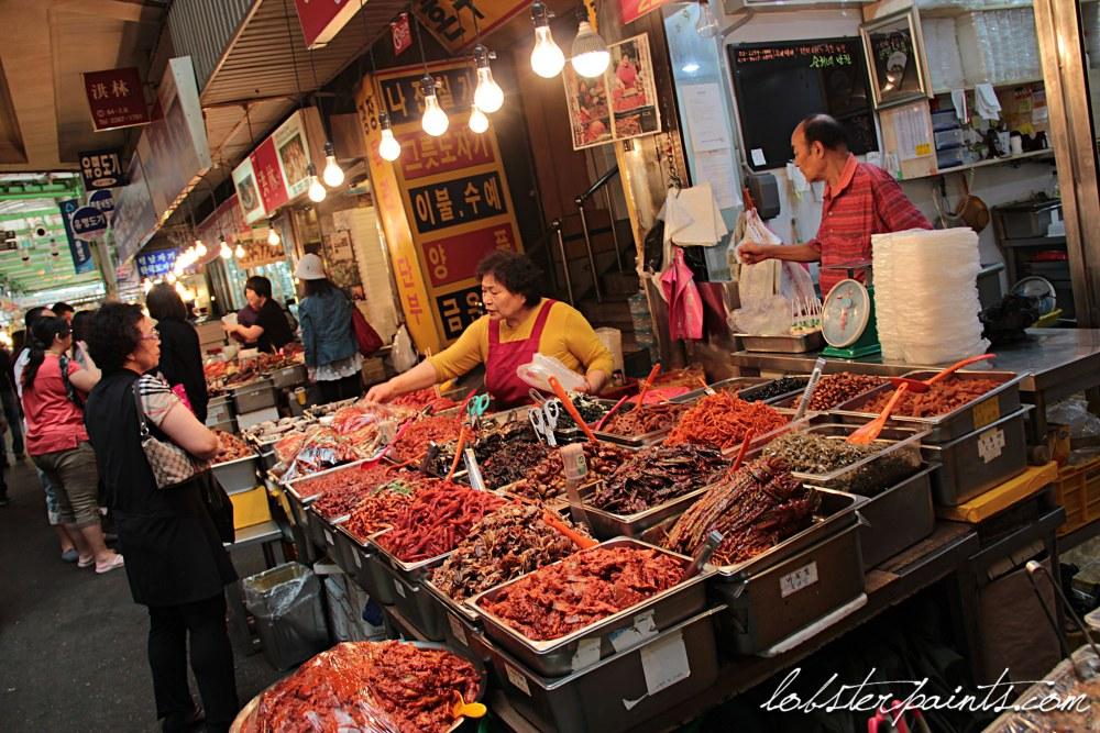 30 Sep 2014: Gwangjang Market 광장시장   Seoul, South Korea