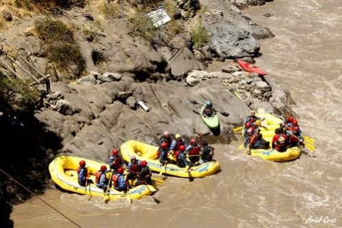 Rafting Cajón del Maipo - Cascada de las Ánimas - NO ALTO MAIPO