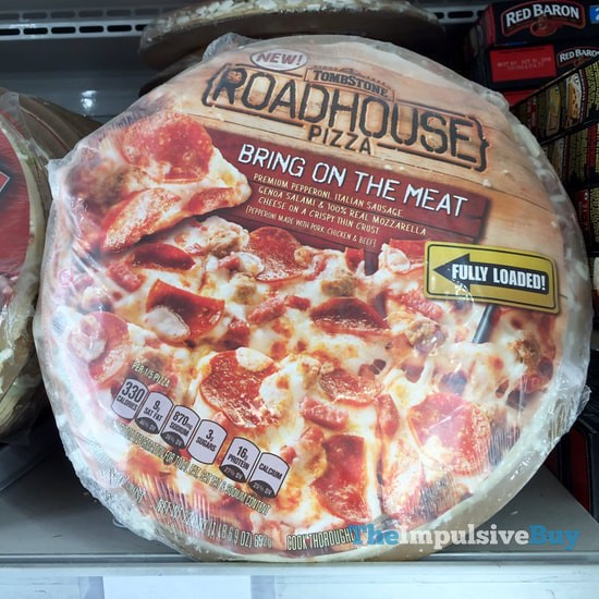 Tombstone Bring on the Meat Roadhouse Pizza