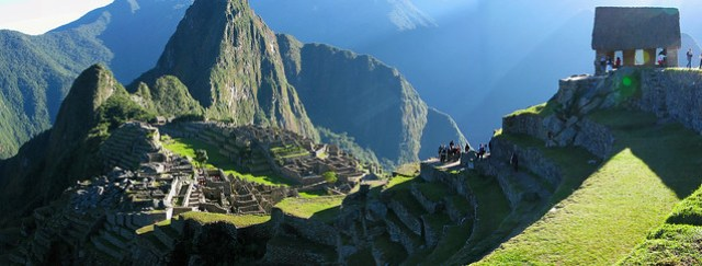 Sunrise at Machu Picchu - June 2010