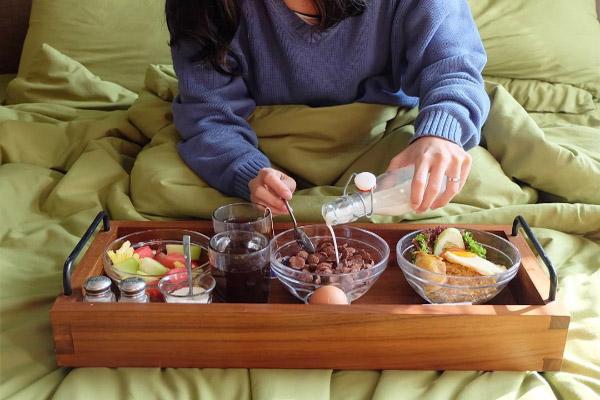 breakfast olivers hostelry