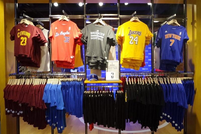 Official NBA store opens at Glorietta  11516fe3412