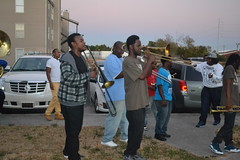 143 TBC Brass Band at A Birthday Party in New Orleans East