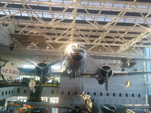 DC3 in Air and Space