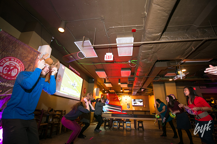 BYT and New Belgium Brewery host Antler Ropin at Laughing Man Tavern in Washington, D.C.