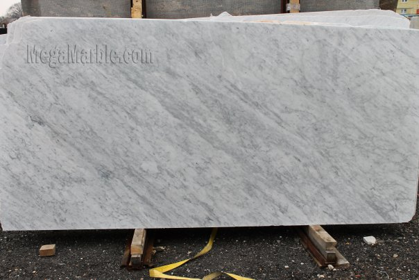 White Carrara - Marble Slab Polished