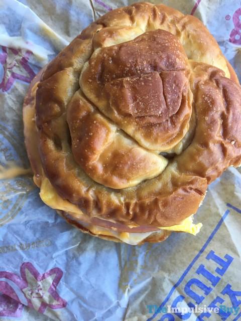 Carl's Jr. Pretzel Breakfast Sandwich 2