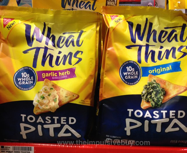 Wheat Thins Toasted Pita