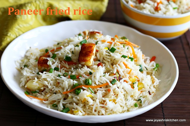 Indian-style fried rice