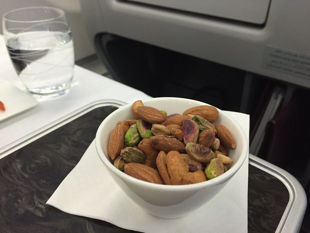 Qatar Airways Business Class Nuts (served in a bowl not a packet)