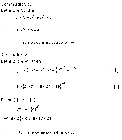 RD Sharma Class 12 Solutions Free online Chapter 3 Binary Operations Ex 3.2 Q4-xi