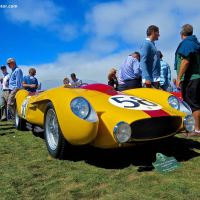 1958 Ferrari 250 Testa Rossa Scaglietti Spyder at the Pebble Beach Concours d'Elegance