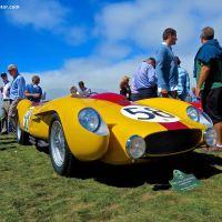 1958 Ferrari 250 Testa Rossa Scaglietti Spyder at the Pebble Beach Concours d'Elegance
