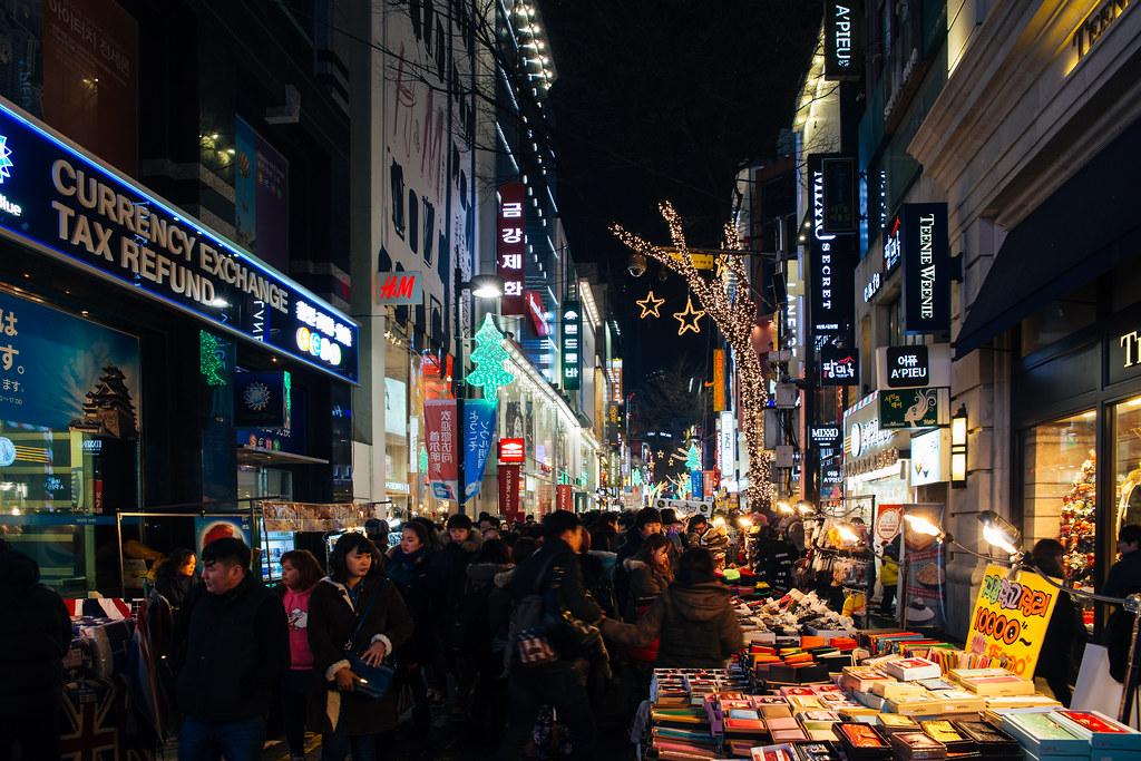 Seoul: Myeong-dong