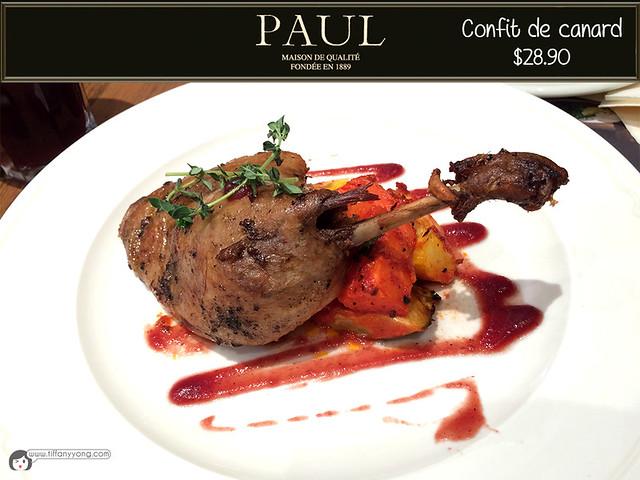 PAUL confit de canard