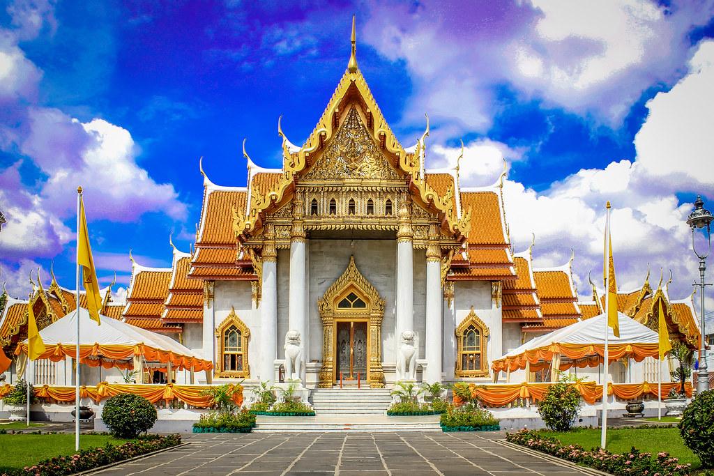 Budha Temple,  Bangkok