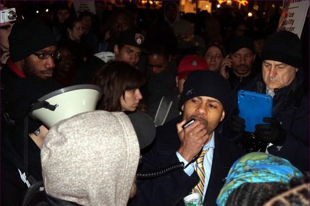 Eric Garner Protest 4th December 2014, Manhattan, NYC from Flickr via Wylio