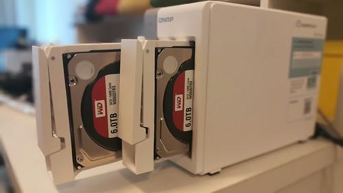WD Red 6TB คู่ใจสำหรับอุปกรณ์ NAS อย่าง QNAP TS-251 ตัวนี้