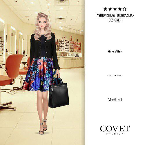 Fashion Show For Brazilian Designer Covetfashion Https T Co 2htqpe33hq Paper Doll Book