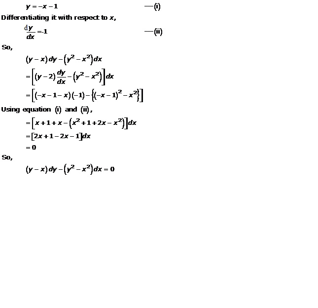 RD Sharma Class 12 Solutions Chapter 22 Differential Equations Ex 22.3 Q14