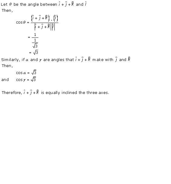 RD Sharma Class 12 Solutions Chapter 24 Scalar or Dot Product Ex 24.1 Q12