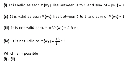 RD-Sharma-class-11 Solutions-Chapter-33-Probability-Ex-33.3-Q-1