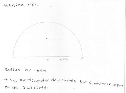 RD SHARMA class_6 solutions  14.Circles  Ex_14.1 Q 6