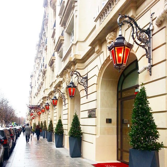 Hotel de luxe : Le Royal Monceau Raffles