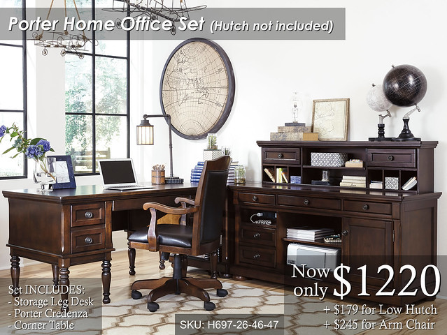 Porter Home Office LowHutch - Priced
