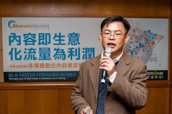 Akamai台灣技術顧問黃開印