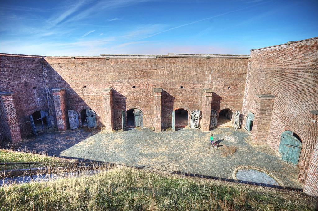 Eastern Demi-Bastion of Fort Washington