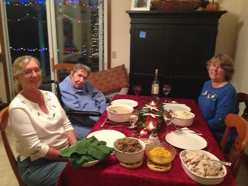 Wright Family Christmas Dinner
