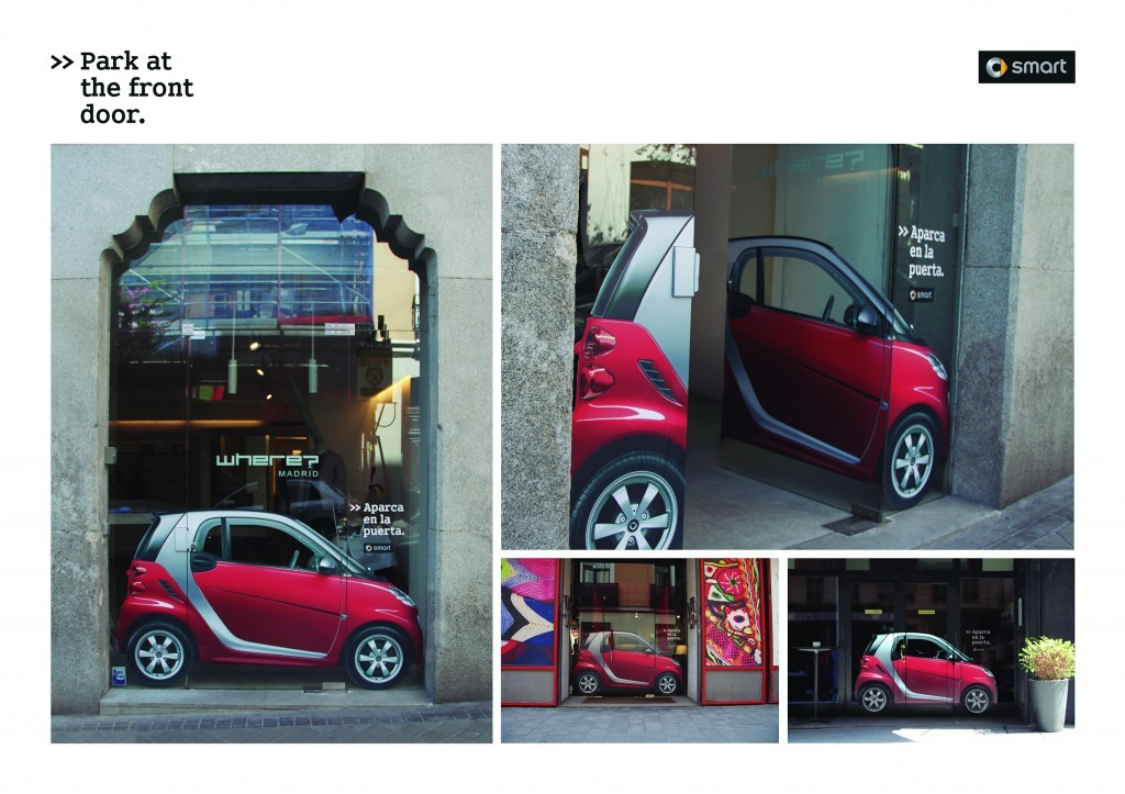 Smart Fortwo - Park at the front door