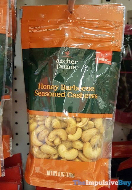 Archer Farms Honey Barbecue Seasoned Cashews