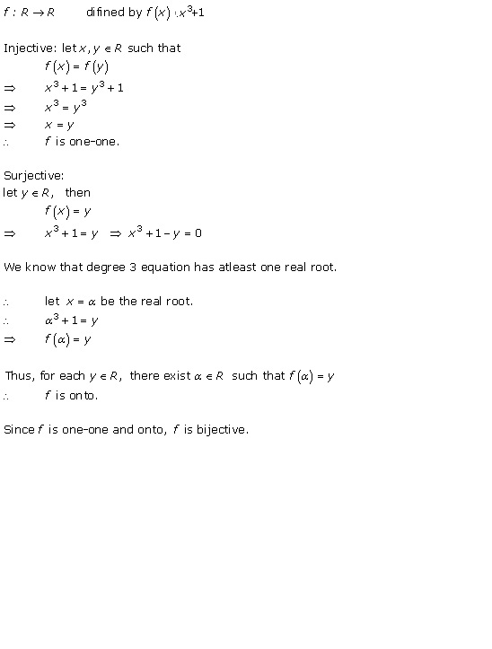 RD Sharma Class 12 Solutions Chapter 2 Functions Ex2.1 Q5-ix