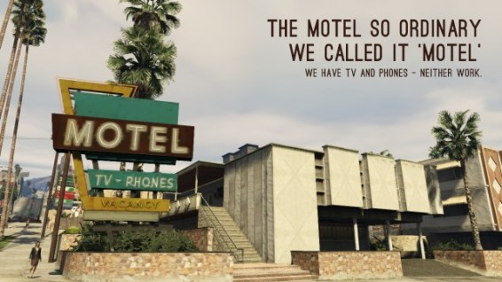 Motel Advert
