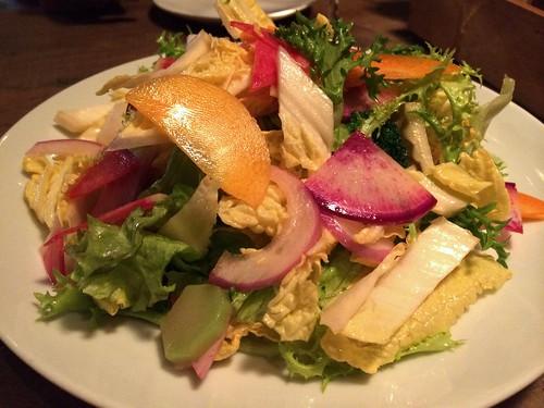 冬野菜のサラダ@ミルヴァン フィオーリ