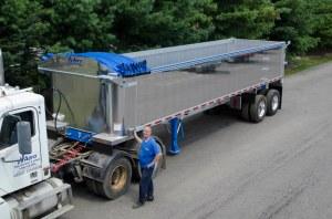 CrankNGo 3 Dump Tarp System | Aero Industries