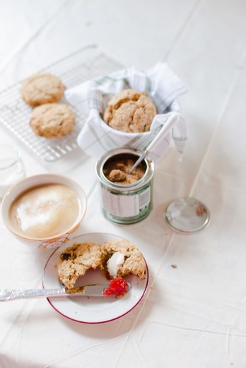 Lemon and Raisin Oatmeal Scones | Elsa Brobbey