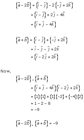 RD Sharma Class 12 Solutions Chapter 24 Scalar or Dot Product Ex 24.1 Q4